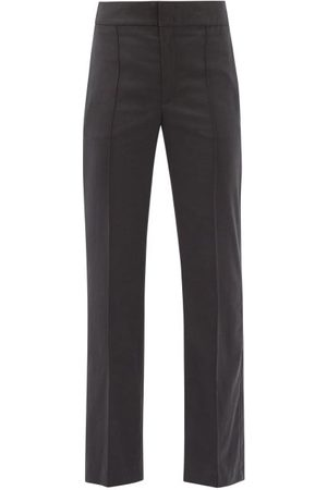 Isabel Marant Women Trousers - Sorokia High-rise Crepe Trousers - Womens