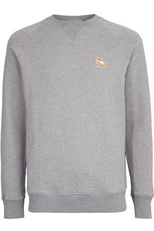Maison Kitsuné Women Sweatshirts - Chillax fox patch sweatshirt