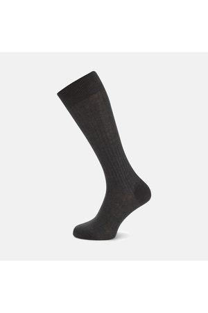 Turnbull & Asser Dark Long Cotton Socks