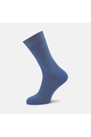 Turnbull & Asser Denim Short Pure Cotton Socks