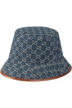 Gucci Women Hats - GG canvas bucket hat