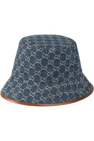 Gucci Women Hats - GG canvas bucket hat