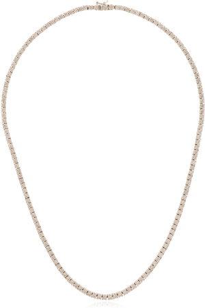 777 18kt gold diamond necklace - 114 - :