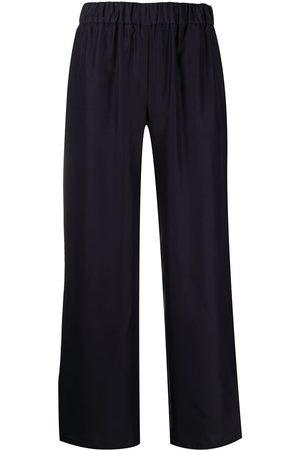P.a.r.o.s.h. Wide-leg silk trousers