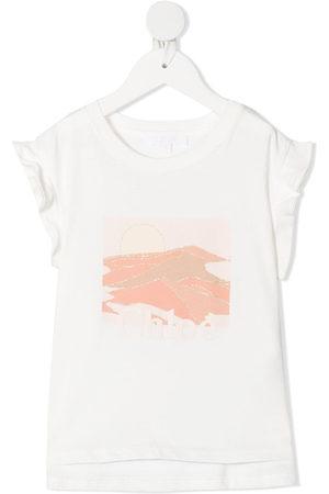 Chloé Graphic print sleeveless top