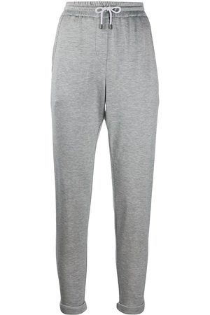 Brunello Cucinelli Tapered-leg track pants