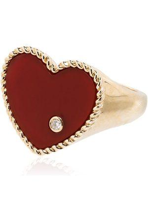 YVONNE LÉON 9K yellow gold diamond ring - METALLIC