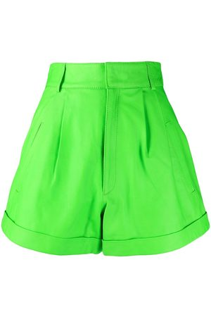 Manokhi High-waisted A-line shorts