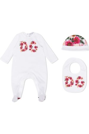 Dolce & Gabbana Floral logo pajama set