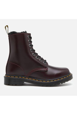 Dr. Martens Women's 1460 Serena Fur Lined Leather 8-Eye Boots