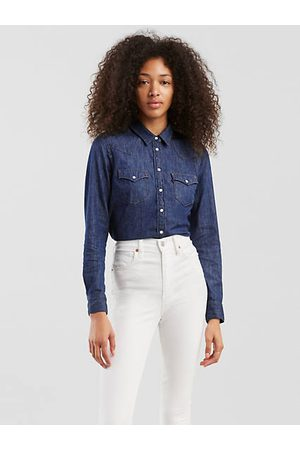 Levi's Women Shirts - The Ultimate Western Shirt - Medium Wash / Minds Eye