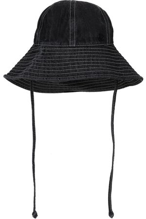 Le Mont St Michel Julianne Cotton Denim Hat