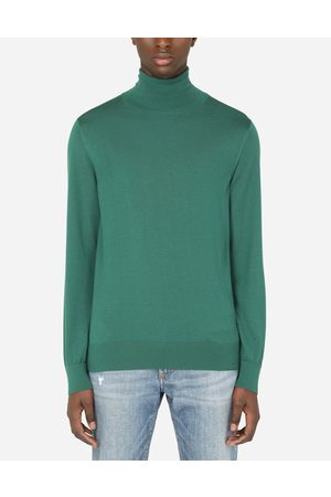 Dolce & Gabbana Collection - CASHMERE TURTLE-NECK SWEATER male 44