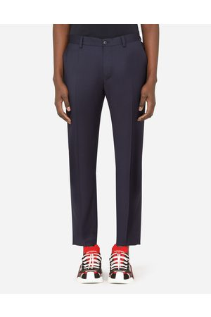 Dolce & Gabbana Collection - STRETCH WOOL PANTS male 48
