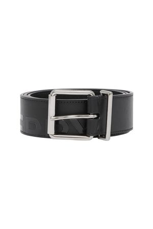 Burberry Horseferry Print Leather Belt