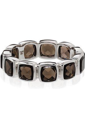 Tom Wood Men Rings - Quartz-embellished band ring