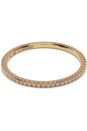Le Gramme Pavé diamond rings
