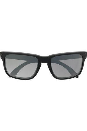 Oakley Square-frame logo-embellished sunglasses