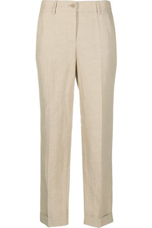 P.a.r.o.s.h. Slim-fit tailored trousers - Neutrals