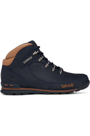 Timberland Men Outdoor Shoes - Euro rock hiker for men in navy navy, size 7