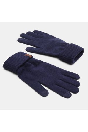 Timberland Women's magic gloves with foldover cuff in navy navy men, size one
