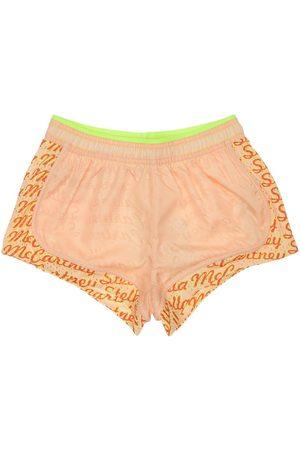 Stella McCartney Girls Shorts - Active Shorts W/ Airtex Inserts