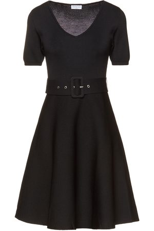 Claudie Pierlot Woman Fluted Knitted Mini Dress Size 1