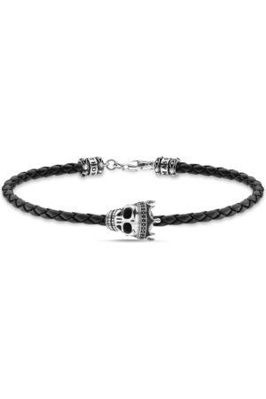 Thomas Sabo Bracelets - Leather bracelet skull A2014-805-11-L17