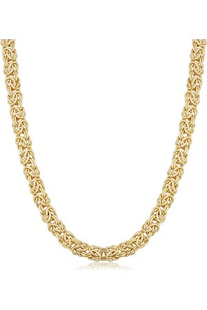 SuperJeweler 6mm Byzanite Chain Necklace, 20 Inches, (30.60 g)