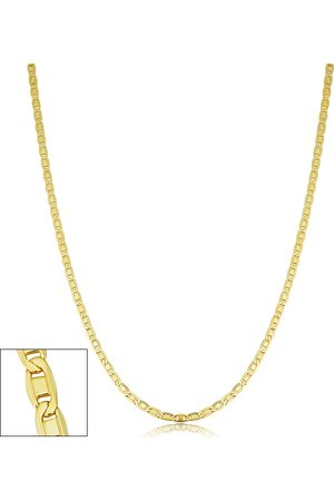 SuperJeweler 2.1mm Valentino Link Chain Necklace, 24 Inches, (4.30 g)
