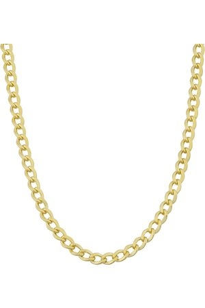 SuperJeweler 3.3mm Curb Link Chain Necklace, 30 Inches, (11.20 g)