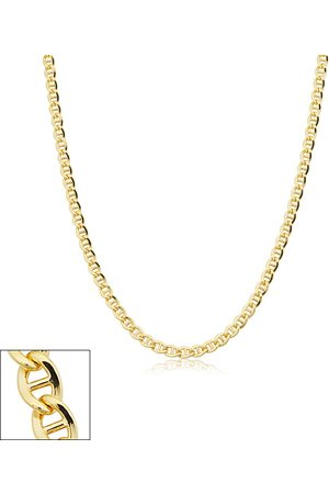 SuperJeweler 3.4mm Mariner Link Chain Necklace, 16 Inches, (7.05 g)