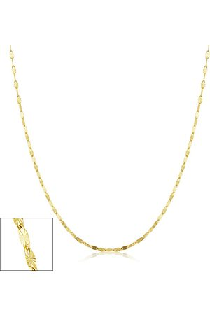 SuperJeweler 1.5mm Star Flat Link Chain Necklace, 20 Inches, (1.10 g)
