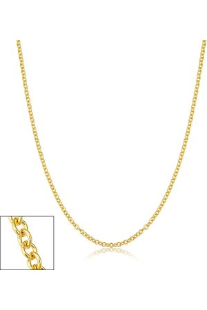 SuperJeweler 2.1mm Round Cable Link Chain Necklace, 20 Inches, (3.70 g)