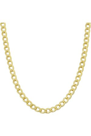 SuperJeweler 3.3mm Curb Link Chain Necklace, 22 Inches, (8.60 g)