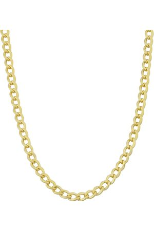 SuperJeweler 3.3mm Curb Link Chain Necklace, 36 Inches, (13.70 g)