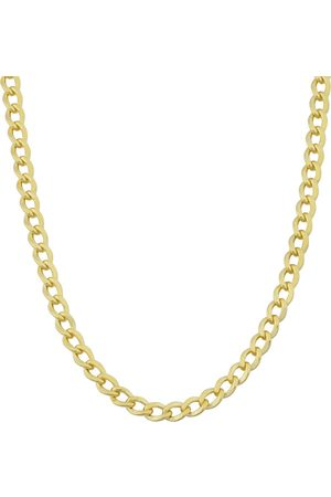 SuperJeweler 3.3mm Curb Link Chain Necklace, 24 Inches, (9.10 g)