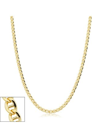 SuperJeweler 3.4mm Mariner Link Chain Necklace, 24 Inches, (10.50 g)