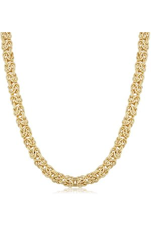 SuperJeweler Necklaces - 6mm Byzanite Chain Necklace, 18 Inches, (27.90 g)
