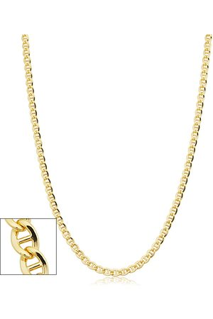 SuperJeweler 3.4mm Mariner Link Chain Necklace, 36 Inches, (15.60 g)
