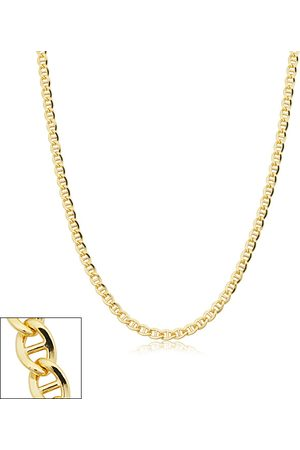 SuperJeweler 3.4mm Mariner Link Chain Necklace, 18 Inches, (7.75 g)