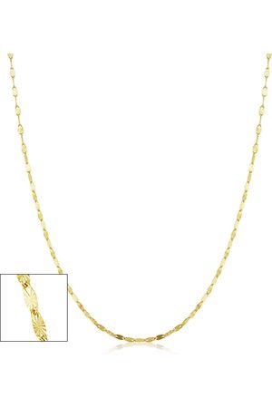 SuperJeweler 1.5mm Star Flat Link Chain Necklace, 30 Inches, (1.45 g)
