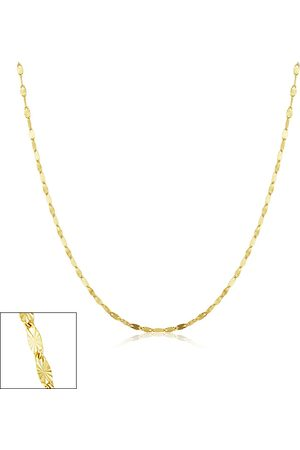 SuperJeweler Necklaces - 1.5mm Star Flat Link Chain Necklace, 16 Inches, (0.90 g)