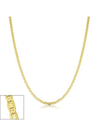 SuperJeweler 2.1mm Valentino Link Chain Necklace, 18 Inches, (3.40 g)