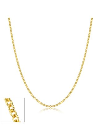 SuperJeweler 2.1mm Round Cable Link Chain Necklace, 18 Inches, (3.35 g)
