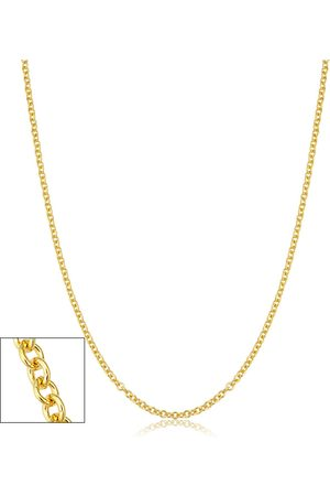 SuperJeweler 2.1mm Round Cable Link Chain Necklace, 30 Inches, (5.40 g)