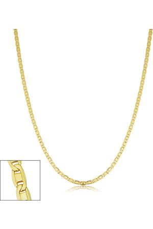 SuperJeweler 2.1mm Valentino Link Chain Necklace, 20 Inches, (3.80 g)