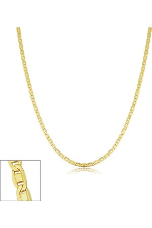 SuperJeweler Necklaces - 2.1mm Valentino Link Chain Necklace, 16 Inches, (3.10 g)