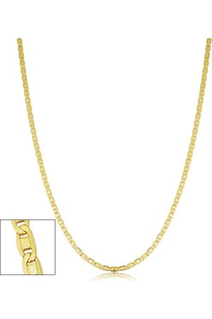 SuperJeweler 2.1mm Valentino Link Chain Necklace, 30 Inches, (5.40 g)