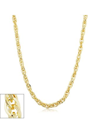 SuperJeweler 5.2mm Double Cable Link Chain Necklace, 24 Inches, (22.10 g)
